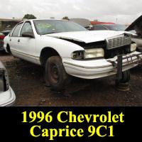 Junkyard 1996 Chevrolet Caprice 9C1