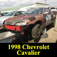 Junkyard 1998 Chevrolet Cavalier