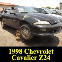 Junkyard 1998 Chevrolet Cavalier Z24