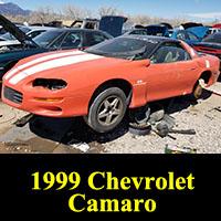 Junkyard 1999 Chevrolet Camaro Coupe