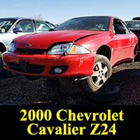 Junkyard 2000 Chevrolet Cavalier Z24