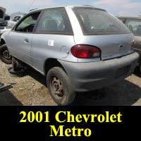 Junkyard 2000 Chevrolet Metro