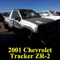 Junkyard 2001 Chevrolet Tracker