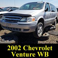 Junkyard 2002 Chevrolet Venture Warner Bros Edition
