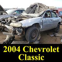 Junkyard 2004 Chevrolet Classic