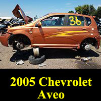 Junkyard 2005 Chevrolet Aveo