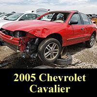 Junkyard 2005 Chevrolet Cavalier