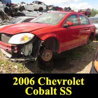 Junkyard 2006 Chevrolet Cobalt SS