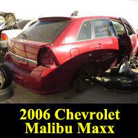 Junkyard 2006 Chevrolet Malibu Maxx