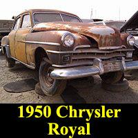 Junkyard 1950 Chrysler Royal