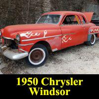 Junkyard 1950 Chrysler Windsor