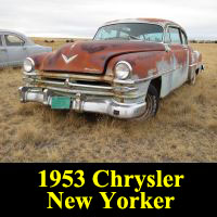 Junkyard 1953 Chrysler New Yorker