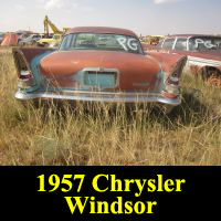 Junkyard 1957 Chrysler Windsor