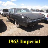 Junkyard 1963 Imperial