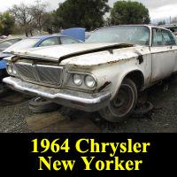 Junkyard 1964 Chrysler New Yorker