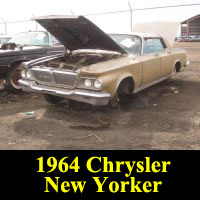 Junkyard 1964 Chrysler New Yorker