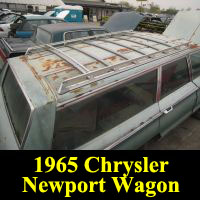 Junkyard 1965 Chrysler Town & Country wagon