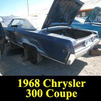 Junkyard 1968 Chrysler 300