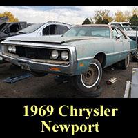 Junkyard 1969 Chrysler Newport Sedan