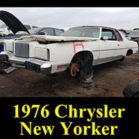 Junkyard 1976 Chrysler New Yorker