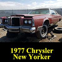 Junkyard 1977 Chrysler New Yorker