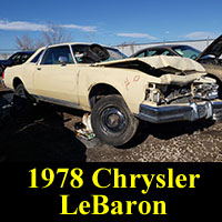 Junkyard 1978 Chrysler LeBaron