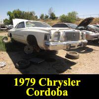 Junkyard 1979 Chrysler Cordoba