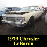 Junkyard 1979 Chrysler LeBaron