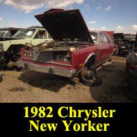 Junkyard 1982 Chrysler New Yorker