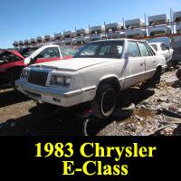 Junkyard 1983 Chrysler E-Class