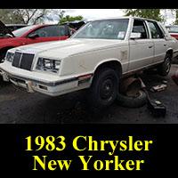 Junkyard 1983 Chrysler New Yorker