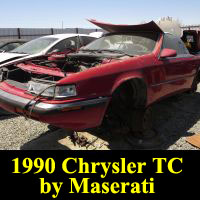 Junkyard 1989 Chrysler TC by Maserati