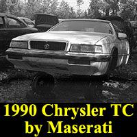 Junkyard 1990 Chrysler TC by Maserati