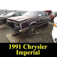 Junkyard 1991 Chrysler Imperial