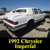 Junkyard 1992 Chrysler Imperial