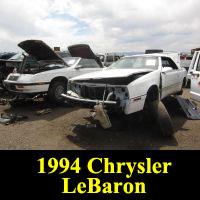 Junkyard 1993 Chrysler LeBaron