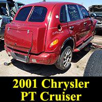 Junkyard 2001 Chrysler PT Cruiser Bustleback
