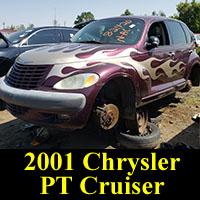 Junkyard 2001 Chrysler PT Cruiser