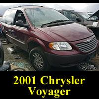 Junkyard 2001 Chrysler Voyager