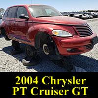Junkyard 2004 Chrysler PT Cruiser GT Turbo