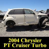 Junkyard 2004 Chrysler PT Cruiser GT Turbo
