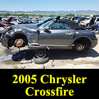 Junkyard 2005 Chrysler Crossfire