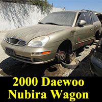 Junkyard 2000 Daewoo Nubira Wagon