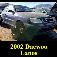 Junkyard 2002 Daewoo Lanos