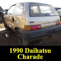 Junkyard 1990 Daihatsu Charade