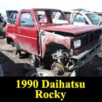 Junkyard 1990 Daihatsu Rocky