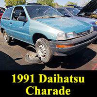 Junkyard 1991 Daihatsu Charade