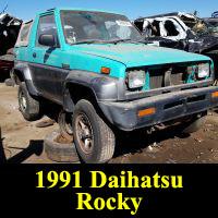 Junkyard 1991 Daihatsu Rocky