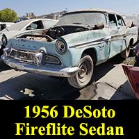 Junkyard 1956 DeSoto Fireflite