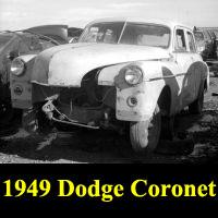 Junkyard 1949 Dodge Coronet